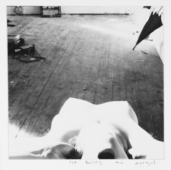 <p><i>On Being an Angel, Providence, Rhode Island</i>, 1976 (P.085)<br />Gelatin silver estate print<br />20.3 x 25.4 cm, 8 x 10 in</p>