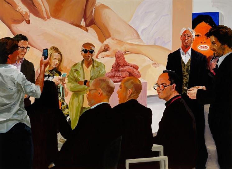 <p><em>Art Fair: Booth #4 The Price</em>, 2013<br />Oil on linen<br />208.3 x 284.5 cm, 82 x 112 in</p>