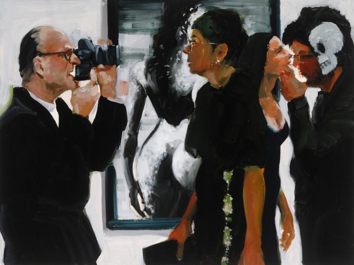 <p><em>Art Fair: Booth #60 Shoot/Please</em> (study), 2014<br />Oil on Linen<br />91.4 x 121.9 cm, 36 x 48 in</p>