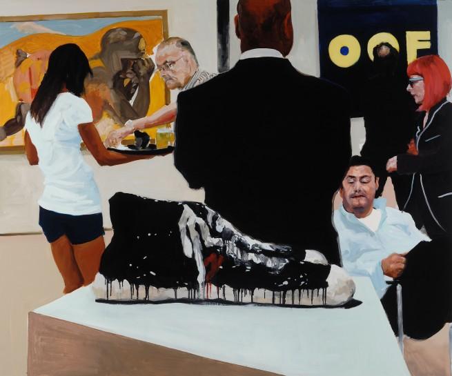 <p><em>Art Fair: Booth #15 OOF</em>, 2014<br />Oil on Linen<br />172.7 x 208.3 cm, 68 x 82 in</p>