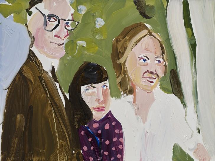 <p><i>Robert, Harriet and Elizabeth</i><span>, 2015</span><br /><span>Oil on board</span><br /><span>30.5 x 40.7 cm</span><br /><span>12 1/8 x 16 1/8 in</span></p>
