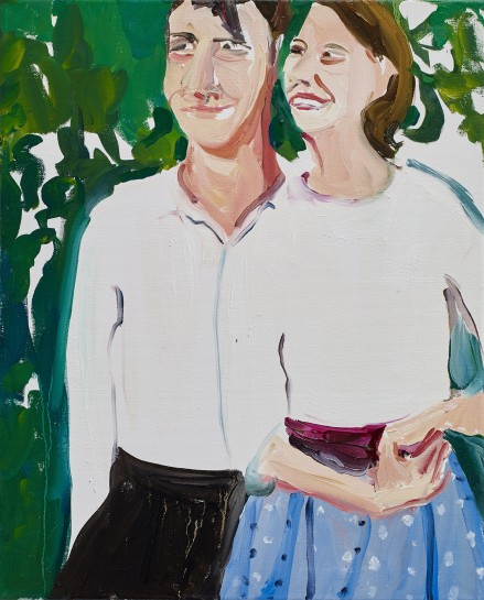 <p><i>Ted and Sylvia</i><span>, 2015</span><br /><span>Oil on canvas</span><br /><span>50.4 x 40.8 cm</span><br /><span>19 7/8 x 16 1/8 in</span></p>