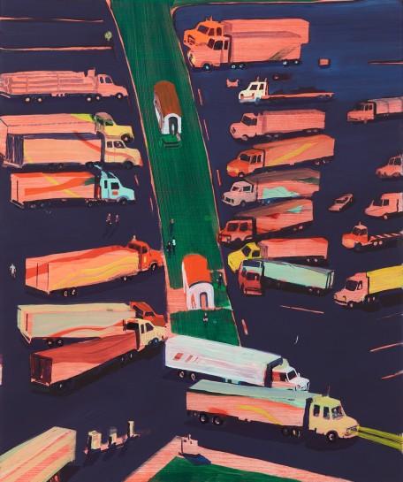 <p><i>Truck Stop Blues</i><span>, 2016</span><br /><span>Oil on panel</span><br /><span>61 x 50.8 cm</span><br /><span>24 x 20 in</span></p>