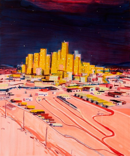 <p><i>City of Angels</i><span>, 2016</span><br /><span>Oil on panel</span><br /><span>61 x 50.8 cm</span><br /><span>24 x 20 in</span></p>