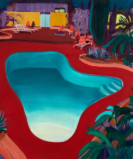 "<p><span><span><span><span><span class=""caption""><i>Valley Pool Party</i>, 2016<br />Oil on panel<br />61 x 50.8 cm<br />24 x 20 in</span></span></span></span></span></p>"