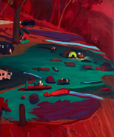 """<p><span><span><span><span><span class=""""caption""""><i>Cliff Dwellers</i>, 2016<br />Oil on panel<br />61 x 50.8 cm<br />24 x 20 in</span></span></span></span></span></p>"""