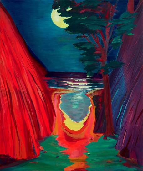 "<p><span><span><span><span><span class=""caption""><i>Night Moves</i>, 2016<br />Oil on panel<br />121.9 x 101.6 cm<br />48 x 40 in</span></span></span></span></span></p>"