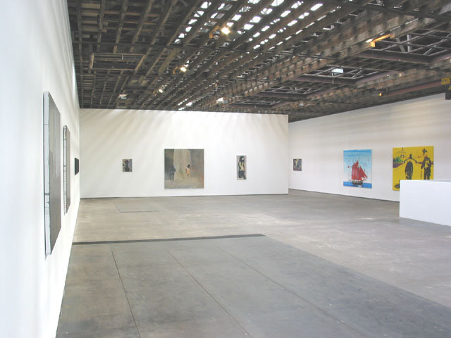 <p>Installation View, <em>Painting 2004</em><i>, </i>Gallery I, Victoria Miro, 16 Wharf Road London N1 7RW, 2004</p>