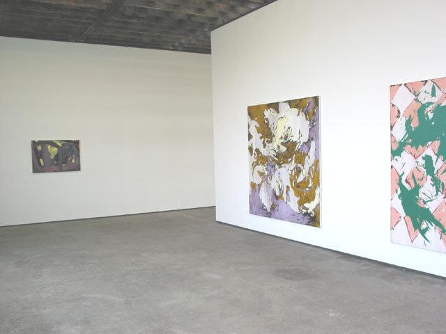 <p>Installation View,<em>Painting 2004</em><i>,</i>Gallery I, Victoria Miro, 16 Wharf Road London N1 7RW, 2004</p>