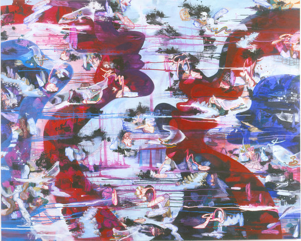 <p>River Muse, 2004-2005<br /><em>Oil on canvas,</em><i>245 x 307 cm<br /></i></p>