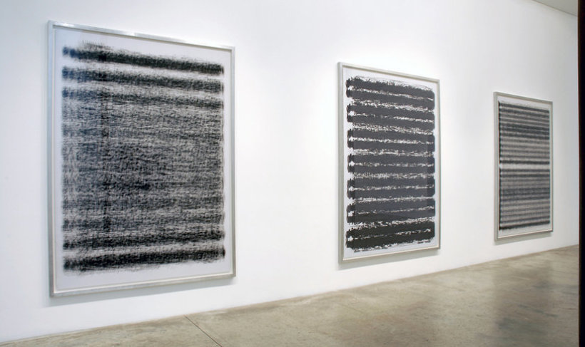 <p>Installation View, Idris Khan, Gallery I, Victoria Miro, 16 Wharf Road London N1 7RW, 2006</p>