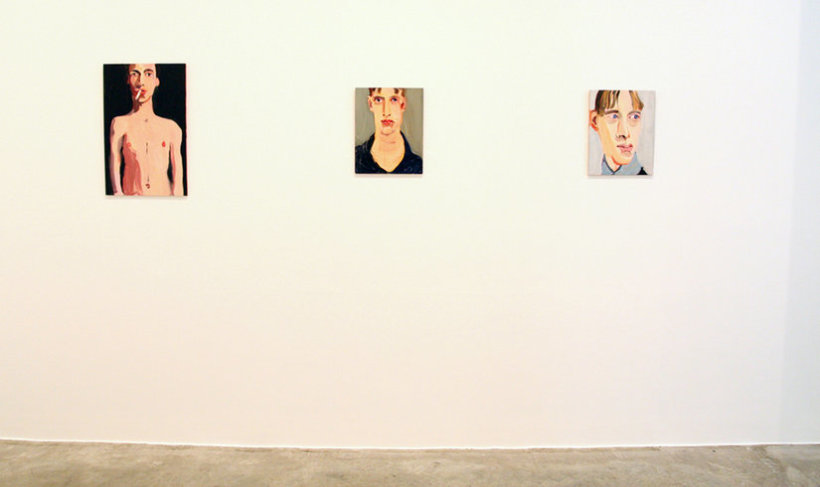 """<p><span style=""""line-height: 1.5em;"""">Installation View, Chantal Joffe,Gallery I, Victoria Miro,</span><span style=""""line-height: 1.5em;"""">16 Wharf Road, London, N1 7RW, 2008</span></p>"""