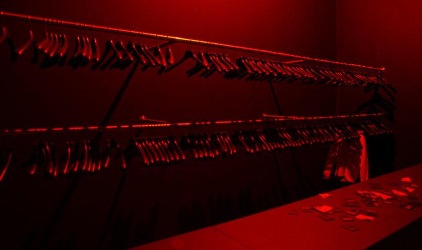 <p>Last Guest fig. 3, 2008<br /><i>Cloakroom, 205 x 478 x 225 cm 80.7 x 188.2 x 88.6 in</i></p>