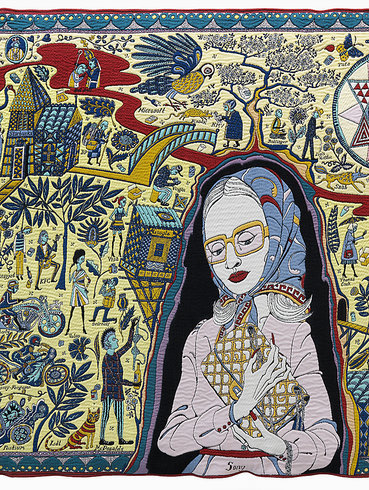 <p>The Walthamstow Tapestry, 2009 (Detail)<br /><em>Wool and cotton, 300 x 1500 cm 118 1/8 x 590 1/2 in</em><br /><br /></p>
