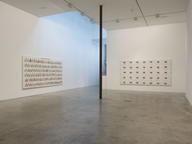 "<p><span style=""line-height: 1.5em;"">Installation View, NS Harsha, <em>Picking through the rubble</em>,</span><span style=""line-height: 1.5em;""> Gallery I, Victoria Miro, 16 Wharf Road, London, N1 7RW, 2009</span></p>"