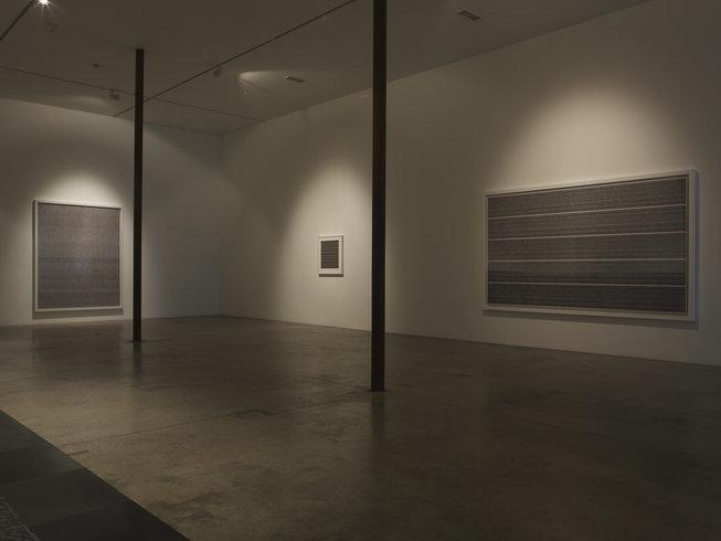 "<p><span style=""line-height: 1.5em;"">Installation View, Idris Khan,</span><span style=""line-height: 1.5em;"">Gallery I, Victoria Miro, 16 Wharf Road, London, N1 7RW, 2010</span></p>"
