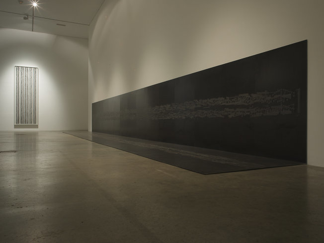 "<p><span style=""line-height: 1.5em;"">Installation View, Idris Khan,</span><span style=""line-height: 1.5em;""> Gallery I, Victoria Miro, 16 Wharf Road, London, N1 7RW, 2010</span></p>"