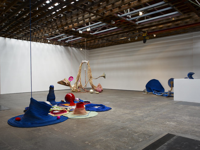 "<p><span style=""line-height: 1.5em;"">Installation View, Maria Nepomuceno,</span><span style=""line-height: 1.5em;"">Gallery I, Victoria Miro, 16 Wharf Road, London, N1 7RW, 2010</span></p>"