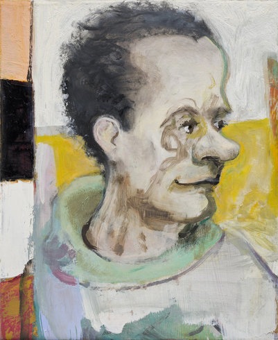 "<p>Verne Dawson, Portrait of Hans Ulrich Obrist, 2010<br /><em>Oil on canvas, <span style=""line-height: 1.5em;"">46.4 x 38.1 cm </span><span style=""line-height: 1.5em;"">18 1/4 x 15 in</span></em></p>"