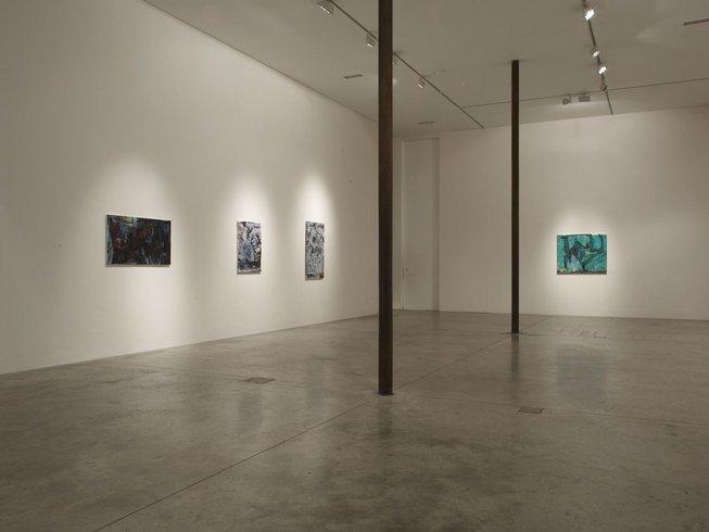 <p>Installation View, Varda Caivano, <i>Voice</i>,Gallery I, Victoria Miro, 16 Wharf Road, London, N1 7RW, 2011</p>