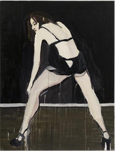 <p>Sarah, 2010<br /><em>Oil on canvas, 259 x 198 cm 102 x 78 in</em></p>