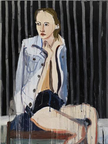 <p>Gwen, 2010<br /><em>Oil on board, 244 x 183 cm 96 1/8 x 72 1/8 in</em></p>