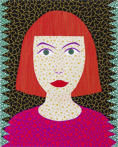 "<p>Self-Portrait OHBTY, 2011<br /><em>Acrylic on canvas,<span style=""line-height: 1.5em;"">162 x 130.3 x 6 cm</span><span style=""line-height: 1.5em;"">63 3/4 x 51 1/4 x 2 3/8 in</span></em></p>"