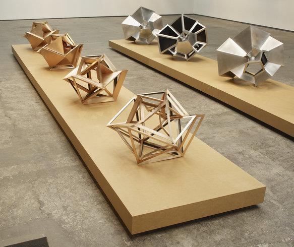 <p>Perimeter Studies (Icosahedron) Set 1, 2011<br /><em>Bronze,52 x 75 x 80 cm20 1/2 x 29 1/2 x 31 1/2 in</em></p>