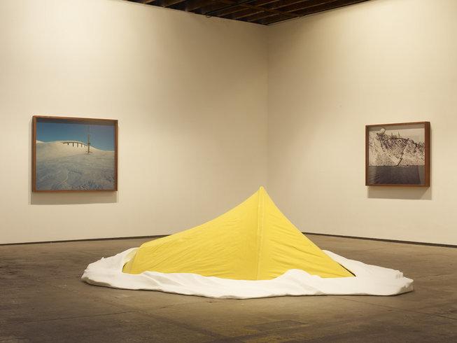 "<p><span style=""line-height: 1.5em;"">Installation View, Alex Hartley</span><span style=""line-height: 1.5em;"">,<em>The world is still big</em>,Gallery I, Victoria Miro, 16 Wharf Road London N1 7RW, 2011</span></p>"