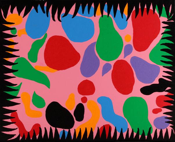 "<p>My Forsaken Love, 2010<br /><em>Acrylic on canvas,<span style=""line-height: 1.5em;"">162 x 130 cm</span><span style=""line-height: 1.5em;"">63 3/4 x 51 1/8 in</span></em></p>"