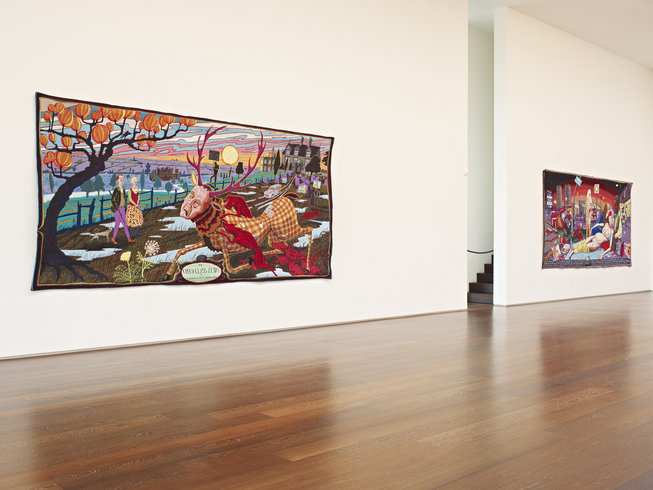 """<p><span style=""""line-height: 1.5em;"""">Installation View,Grayson Perry</span><span style=""""line-height: 1.5em;"""">,<em>The Vanity of Small Differences</em>,Gallery II, Victoria Miro, 16 Wharf Road London N1 7RW, 2012</span></p>"""