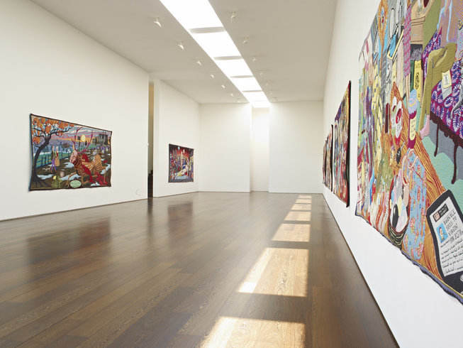 "<p><span style=""line-height: 1.5em;"">Installation View, Grayson Perry</span><span style=""line-height: 1.5em;"">, <em>The Vanity of Small Differences</em>, Gallery II, Victoria Miro, 16 Wharf Road London N1 7RW, 2012</span></p>"