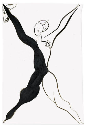 """<p>Hound (Study for Diana & Actaeon), 2012<br /><em>Ink on paper,<span style=""""line-height: 1.5em;"""">79 x 53 cm</span><span style=""""line-height: 1.5em;"""">31 1/8 x 20 7/8 in</span></em></p>"""