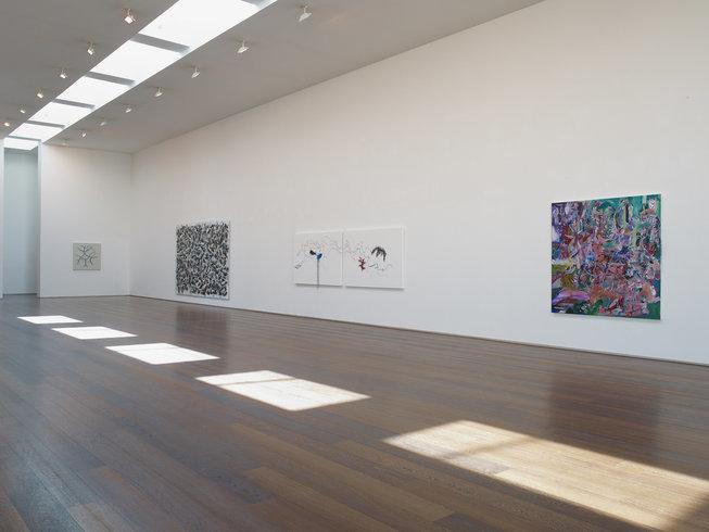 <p>Installation View,<em>Cinematic Visions</em>, Gallery I & II , Victoria Miro, 16 Wharf Road London N1 7RW, 2013</p>