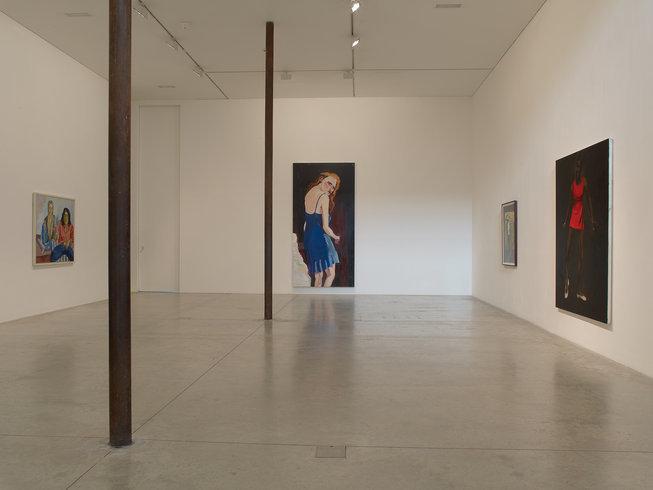 <p>Installation View, <em>Cinematic Visions</em>, Gallery I & II , Victoria Miro, 16 Wharf Road London N1 7RW, 2013</p>