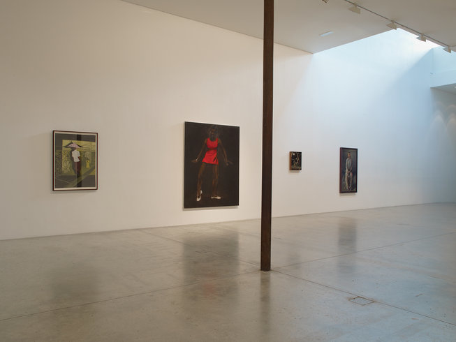 <p>Installation View, <em>Cinematic Visions</em>, Gallery I & II , Victoria Miro, 16 Wharf Road London N1 7RW, 2013</p>