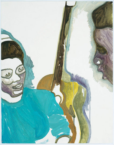 "<p>Peter Doig, Two Students, 2008<br /><em>Oil on Paper, <span style=""line-height: 1.5em;"">73 x 57.5 cm </span><span style=""line-height: 1.5em;"">28 3/4 x 22 5/8 in</span></em></p>"