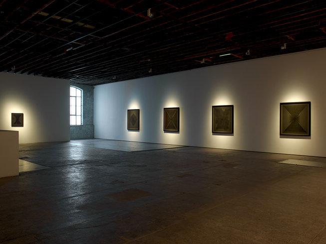 <p>Installation View, Idris Khan,<em>Beyond the Black</em>, Gallery I, Victoria Miro, 16 Wharf Road London N1 7RW, 2013</p>