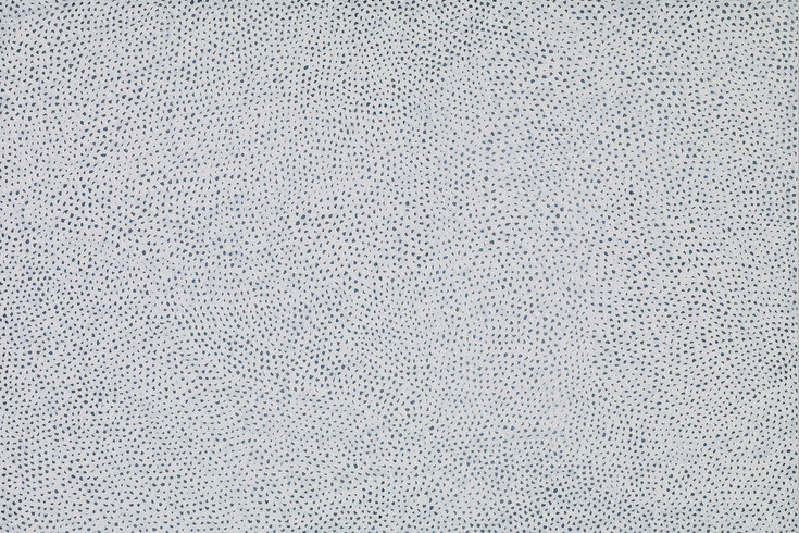 "<p>Yayoi Kusama, INFINITY NETS [BCO], 2013<br /><em>Acrylic on canvas, <span style=""line-height: 1.5em;"">130.3 x 194 cm </span><span style=""line-height: 1.5em;"">51 1/4 x 76 3/8 in</span></em></p>"