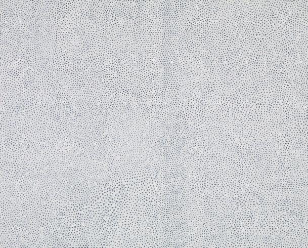 "<p>Yayoi Kusama, INFINITY NETS [CCT], 2013<br /><em>Acrylic on canvas,<span style=""line-height: 1.5em;"">130.3 x 162 cm</span><span style=""line-height: 1.5em;"">51 1/4 x 63 3/4 in</span></em></p>"