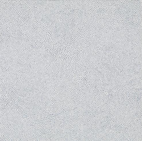 "<p>Yayoi Kusama, INFINITY NETS [IAA], 2013<br /><em>Acrylic on canvas,<span style=""line-height: 1.5em;"">162 x 162 cm</span><span style=""line-height: 1.5em;"">63 3/4 x 63 3/4 in</span></em></p>"
