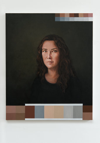 "<p>Adriana Varejão, Polvo Portraits II (Classic Series), (detail), 2013<br /><em>Oil on canvas, <span style=""line-height: 1.5em;"">3 parts. Each part 80 x 65 cm </span><span style=""line-height: 1.5em;"">31 1/2 x 25 5/8 in</span></em></p>"