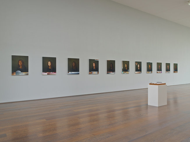 <p>Installation View, Adriana Varejão,<i>Polvo</i>, Gallery II, Victoria Miro, 16 Wharf Road London N1 7RW, 2013</p>