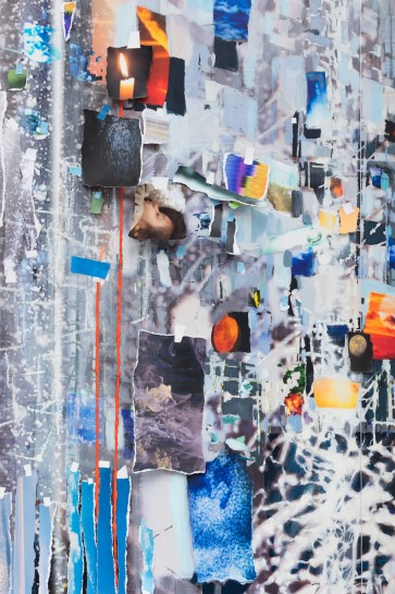 Nick Compton Writes About Sarah Sze Afterimage In Wallpaper
