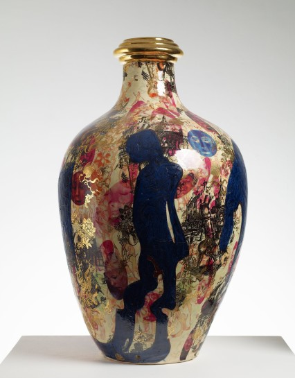 Grayson Perry In Things Of Growing Beauty British Studio Pottery At