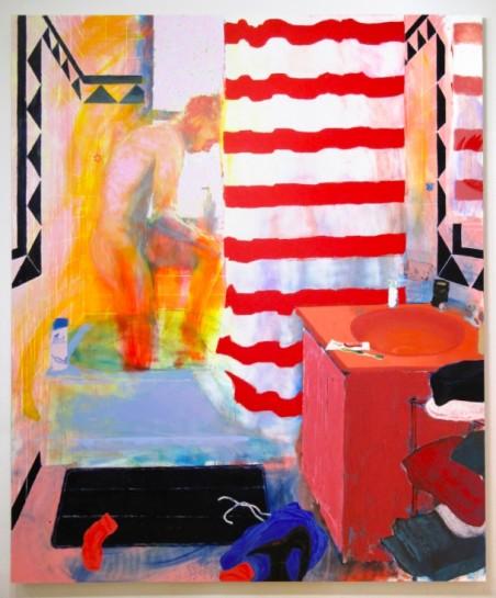 Doron Langberg, Morning 2 (2018). Oil on linen. 96 x 80 inches. Courtesy the artist.