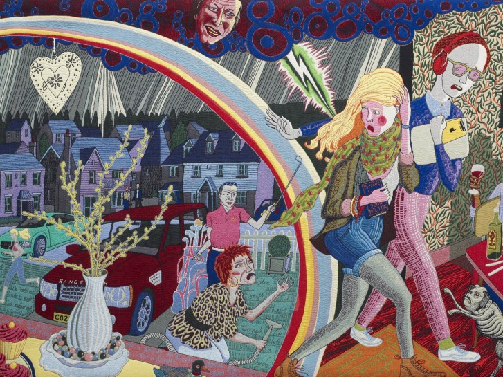 Grayson Perry The Vanity Of Small Differences At Bristol Art Museum Victoria Miro