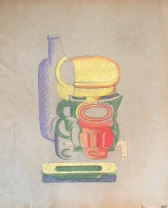 <span class=&#34;artist&#34;><strong>Le Corbusier</strong></span>, <span class=&#34;title&#34;><em>Still Life</em>, 1927</span>