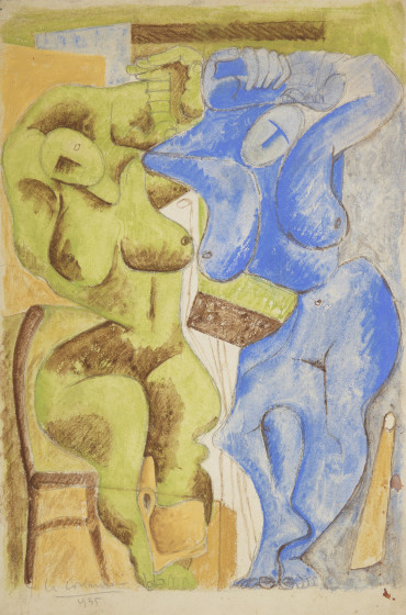 <span class=&#34;artist&#34;><strong>Le Corbusier</strong></span>, <span class=&#34;title&#34;><em>Two Women Standing at the Chair</em>, 1935</span>