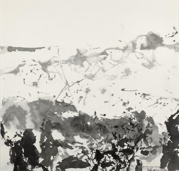 Zao Wou-Ki, Untitled, 1986
